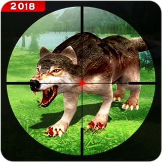 Hunting Animals Sniper Gun Shooter Survival 3D: Wild Safari Wolf Hunter 2019 - Hunting Games For Free -   FPS