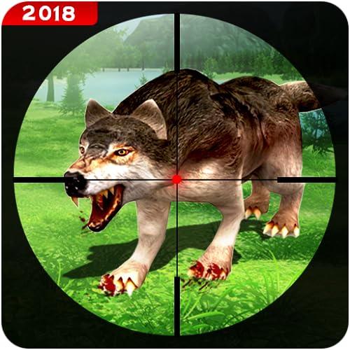 Hunting Animals Sniper Gun Shooter Survival 3D: Wild Safari Wolf Hunter 2019...