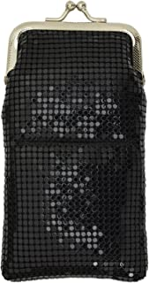 New Design Sequin Cigarette Soft Mesh 100s 120 S Cigarette Case with Lighter Pocket By Marshal