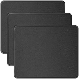 HONGDE 3 Pack Mouse Pad with Stitched Edge, Computer Mouse Pad with Non-Slip Rubber Base, Washable Mousepads Bulk with Lyc...