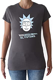 RICKgreso al Futuro - Camiseta - Chica - Rick and Morty - Regreso AL Futuro