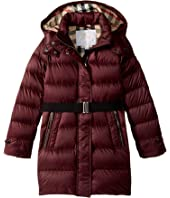 Burberry Kids - Water Repellent Down Long Puffer (Little Kids/Big Kids)
