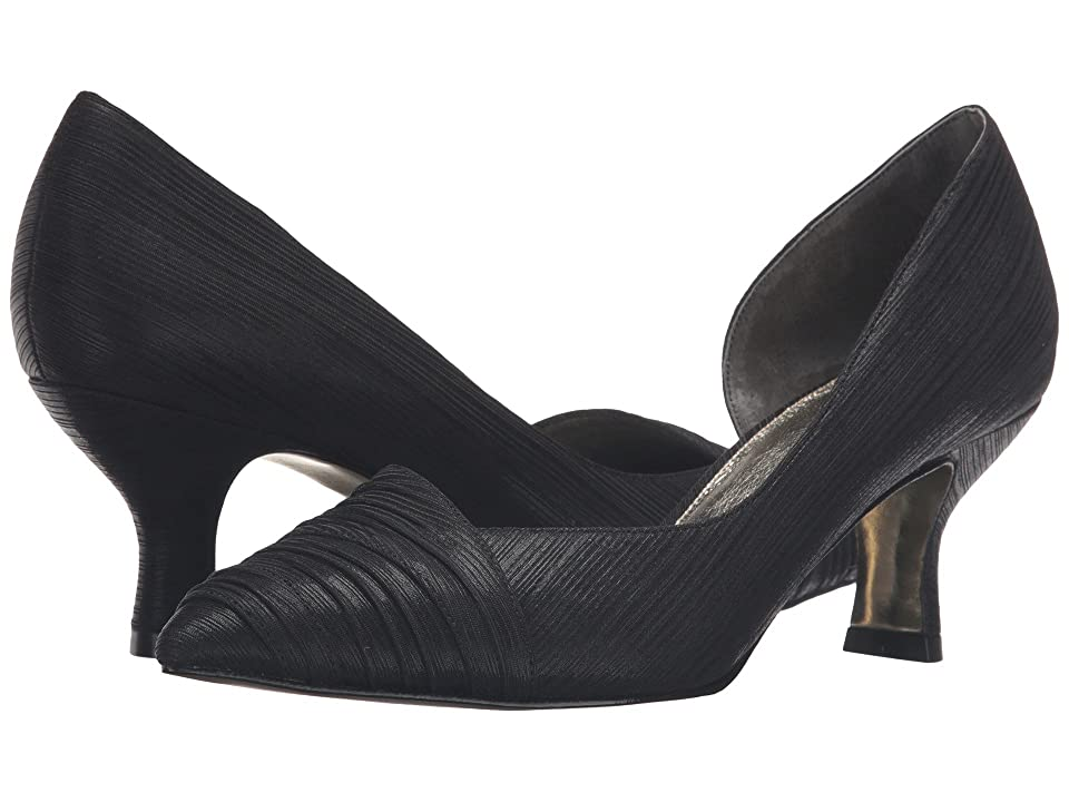 Adrianna Papell Harriet (Black Byzantine Metallic) High Heels