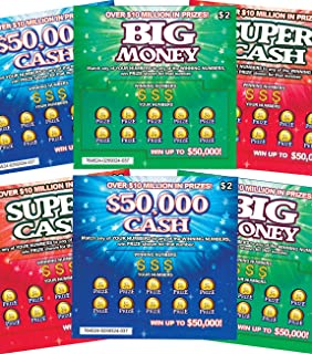 gag gift lottery tickets