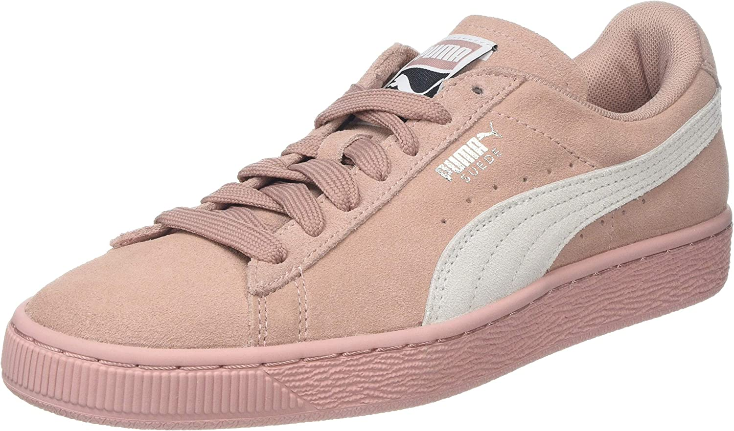 Puma Women's Suede Classic WN's Trainers, Peach Beige-Puma White, 7.5 UK