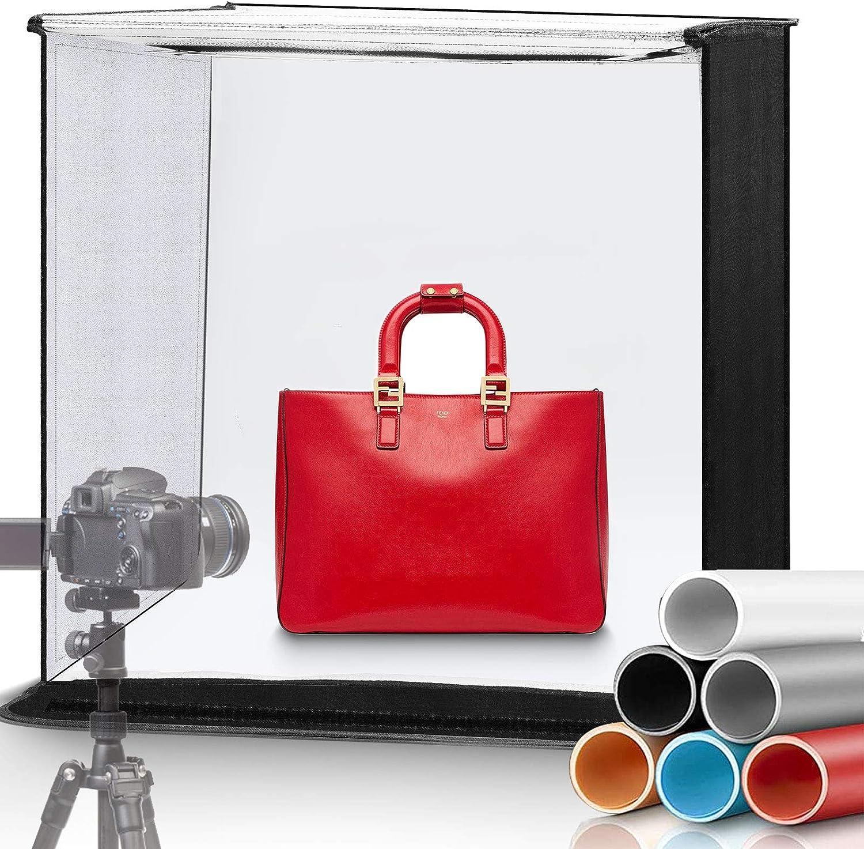 WISAMIC Photo Studio Light Max 47% OFF Box Kit 60cm unisex 24