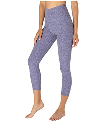 Beyond Yoga Spacedye High Waisted Midi Leggings (Dusty Violet/Lovely Lilac) Women