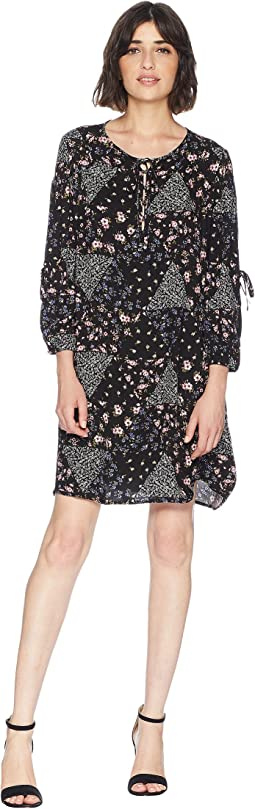 Mojave Floral Patchwork Dress