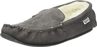 SNUGRUGS Men's Hugo Lambswool Loafer Moccasin Slippers
