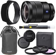 SonyVario-Tessar T FE 16-35mm f/4 ZA OSS Lens with Sony Lens Pouch + AOM Pro Kit Combo Bundle - International Version (1 Year AOM Warranty)