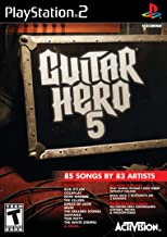 Guitar Hero 5 Stand Alone Software - PlayStation 2 (Game only)