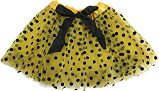 Ballerina Girls Dress-Up Princess Fairy Polka Dots & Ribbon Tutu
