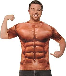 Mens Sublimination Muscle Shirt Costume