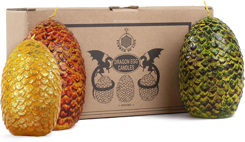 13. Dragon Egg Shape Candles