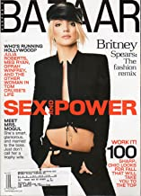 Harper's Bazaar August 2001 Britney Spears Cover
