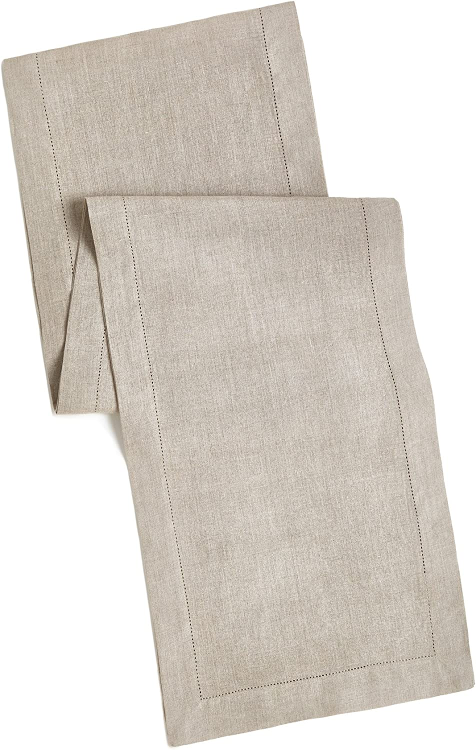 100 Linen Hemstitch Table Runner Size 16x108 Charcoal Hand Crafted And Hand Stitched Table Runner With Hemstitch Detailing The Pure Linen Fabric Works Well In Both Casual And Formal