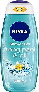 NIVEA Body Wash, Frangipani & Oil Shower Gel, Moisturises Better Than Soap, Pampering Care with Refreshing Scent of Frangi...