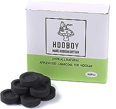 Instant Light Hookah Shisha Charcoal,Charcoal Tablets for Incense-1 Box, 4 Rolls, 40 Tablets