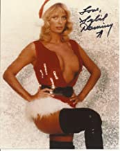 Sybil Danning hand-signed 8 x 10 photo C of A sexy Santa outfit #7