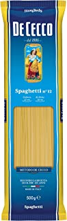 5x Pasta De Cecco 100% Italienisch Spaghetti n. 12 Nudeln 500g