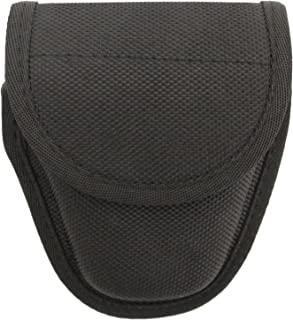 FIRST CLASS POLICE, SHERIFF AND SECURITY SINGLE HANDCUFF CASE FOR STANDARD CHAIN HANDCUFFS FITS DUTY BELTS UP TO 2-1/4