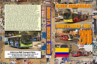 3246. Bogota. Colombia. Buses. Jan 2016. Our first visit to Colombia features the Bus Rapid Transit operations plus private bus companies Funicular, Cable Car