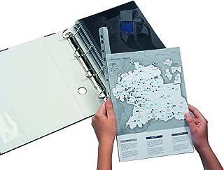 Album Anelli per Fogli Anelli per Libri in Metallo 100PCS Anelli per Rilegatura per Schede Indice Adatti per Fogli Sciolti Scrapbooking 20mm/&25mm Anelli Portachiavi