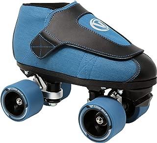 VNLA Code Blue Jam Skate - Mens & Womens Speed Skates - Quad Skates for Women & Men - Adjustable Roller Skate/Rollerskates - Outdoor & Indoor Adult Quad Skate - Kid/Kids Roller Skates