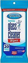 دستمال تمیزکننده شیشه ای اسپری ، 20 تعداد