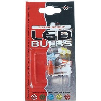 Autolamps LED286TB 12V B8.5D Tacho 1 LED Bulb Blue