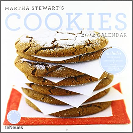 2012 Martha Stewarts Cookies Grid Calendar