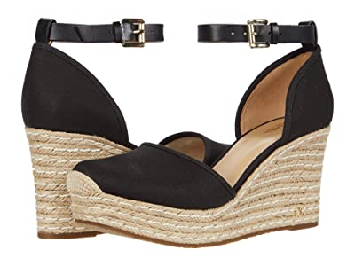 MICHAEL Michael Kors Kendrick Wedge (Black) Women