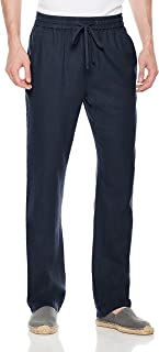 Men's Casual Linen Pant with Drawstring