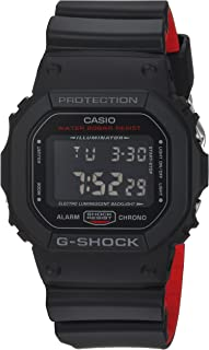 G-Shock DW-5600HR Classic Digital Black Red