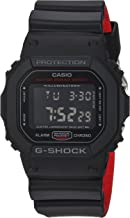 Casio Men's G Shock Quartz Watch with Resin Strap, Black, 25 (Model: DW-5600HR-1CR)