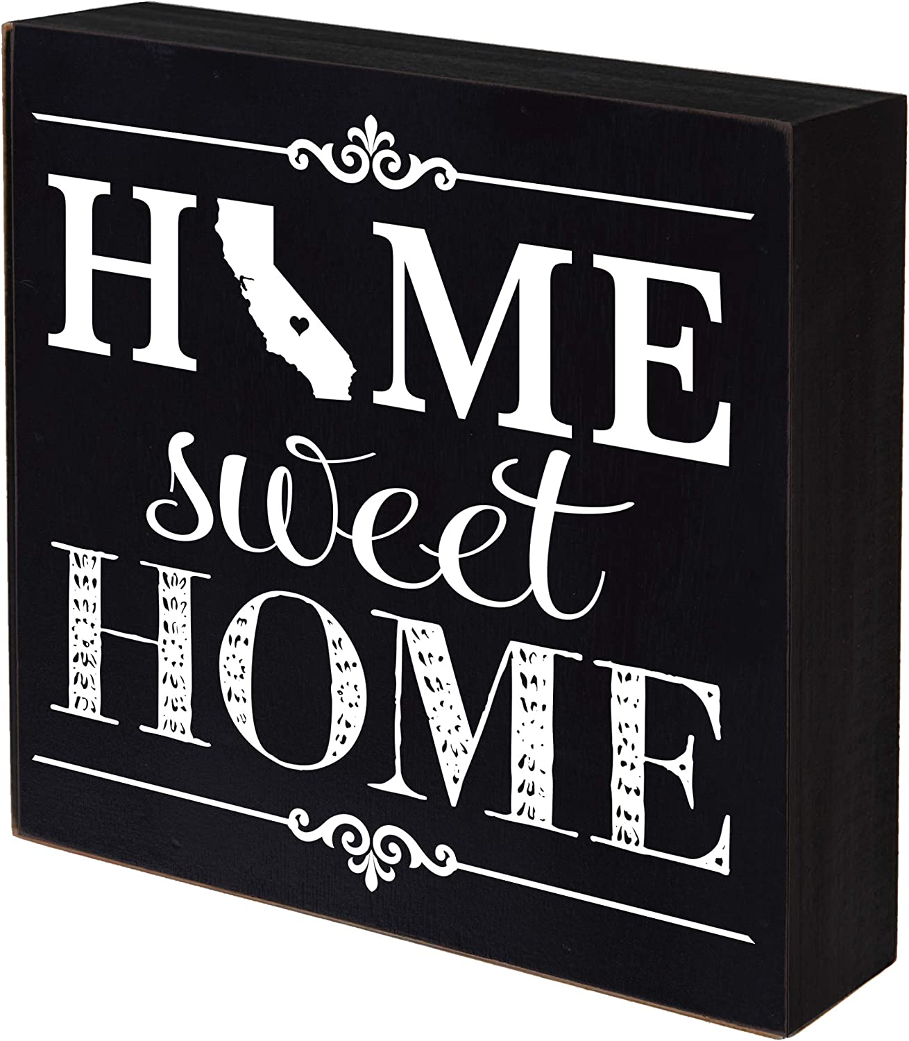 Limited time sale LifeSong Milestones California New York Mall Home Shadow Box Sweet State