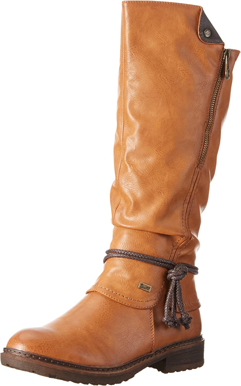 Rieker Women Boots brown, (cayenne schoko) 94758-24
