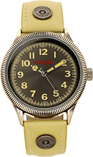 Men's Watch, 40mm with Sunray Dial, Polyurethane Strap with Rivets, Water Resistant