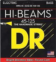 DR Strings Hi-Beam - فولاذ مقاوم للصدأ دائري أساسي متوسط 5 خيوط 45-125