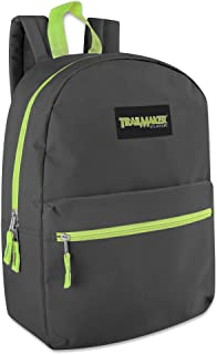 Classic 17 Inch Backpack Case Pack 24 (Grey)