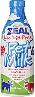 Zeal Lactose Free Pet Milk for Cats and Dogs 1L