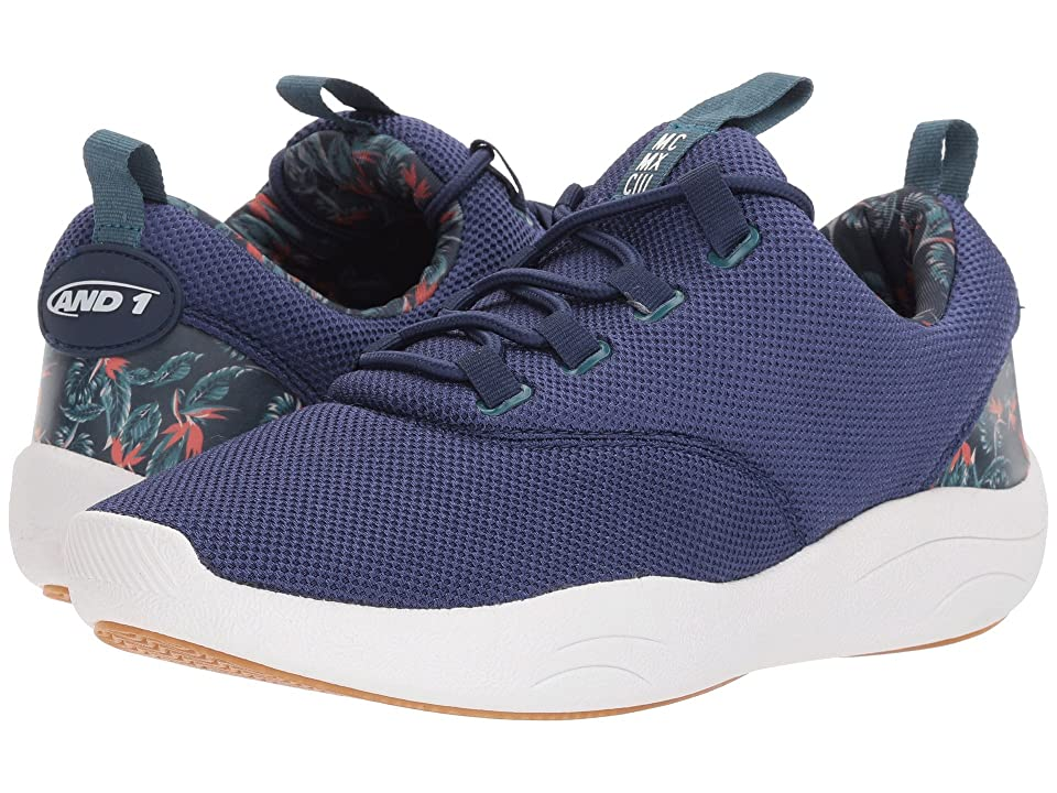 AND1 TC Trainer 2 (Peacoat/Tropical Print/Gum) Men