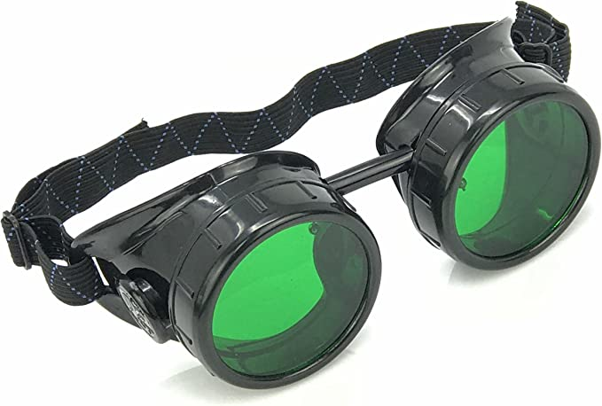 Steampunk Accessories | Goggles, Gears, Glasses, Guns, Mask Steampunk Mad Scientist Goggles Rave Glasses Costume Eye Protection Goggles Welding Style  AT vintagedancer.com