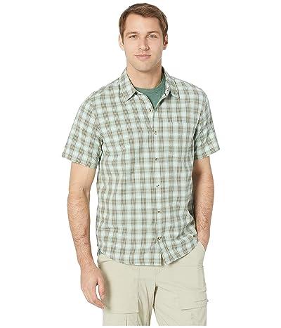Toad&Co Airscape Short Sleeve Shirt (Buckskin) Men