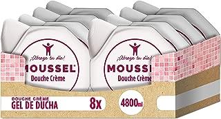 Moussel - Douche Créme Gel de Baño Hidratante 600ml (pack de 8)