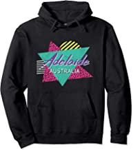 Adelaide Australia Vintage Retro Cool 80s 90s Vacation Gift Pullover Hoodie
