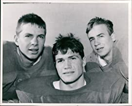 Vintage Photos 1967 Press Photo Sports Stuart Scoop Reif Jim Henry Mike Berg Football 8X10