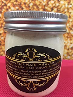 6 OZ RAPUNZEL MEGA HAIR GROWTH BUTTER SHEA MSM HORSETAIL NETTLE CASTOR ROSEHIP SEED NEEM FENUGREEK