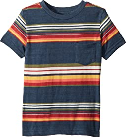 Lucky Brand Kids Short Sleeve Printed Tee (Toddler)