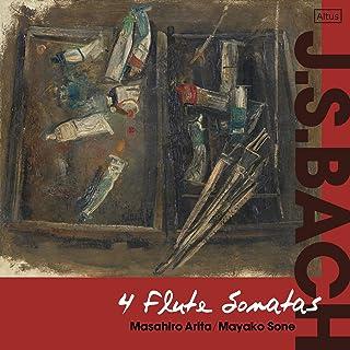 J.S.バッハ : 4つのフルート・ソナタ / 有田正広、曽根麻矢子 (J.S.Bach : 4Flute Sonatas / Masahiro Arita, Mayako S...